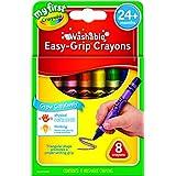 Crayola My First Washable 8-Count Triangular Crayons