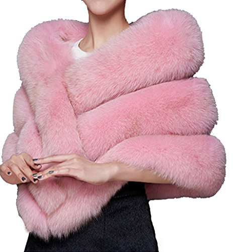 helan-womens-soft-long-faux-fox-fur-shawl-striped-pink