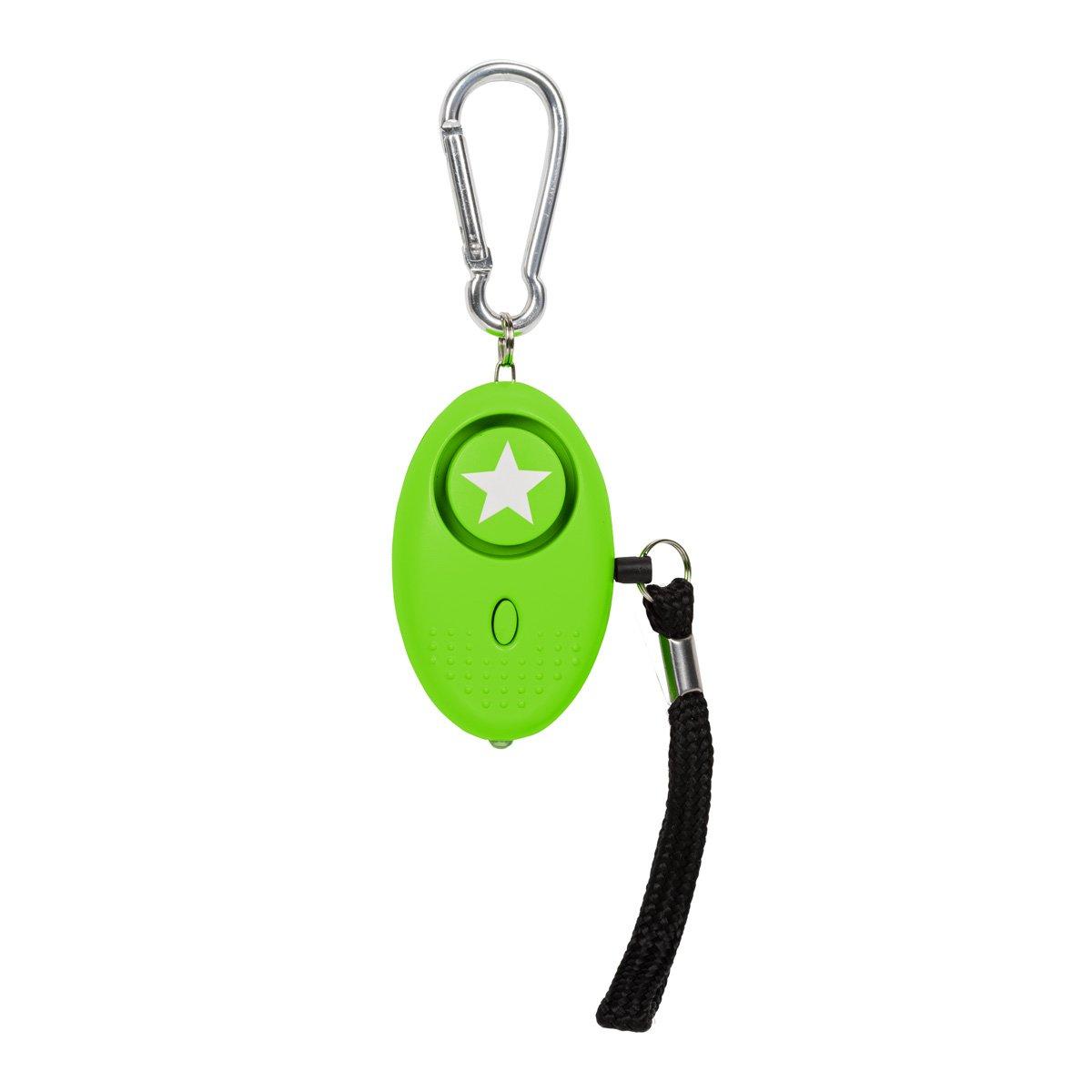 Seguridad contra violaciones 130dB Alarma de P/ánico con la protecci/ón de antorcha tiiwee Alarma Personal Defensa Personal