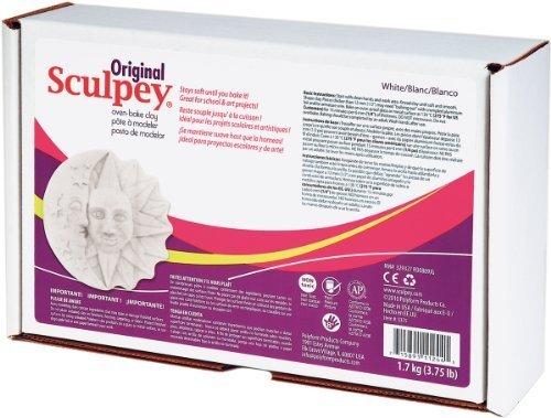 Polyform Sculpey Original Polymer Clay 3.75lb-White by Polyform