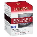 L'Oréal Paris Revitalift Anti-Wrinkle + Firming Night Cream Anti-Aging Pro Retinol, 1.7 fl oz
