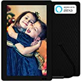 "Nixplay W13B Seed 13.3"" Wi-Fi Cloud Digital Photo Frame with IPS Display, iPhone & Android App, iOS Video Playback, Free 10GB Online Storage, Alexa Integration and Hu-Motion Sensor, Black"