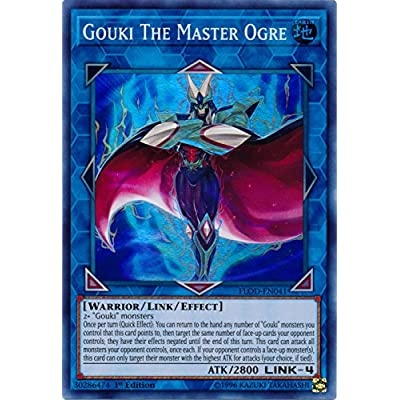Gouki The Master Ogre - FLOD-EN041 - Super Rare - 1st Edition - Flames of Destruction: Toys & Games