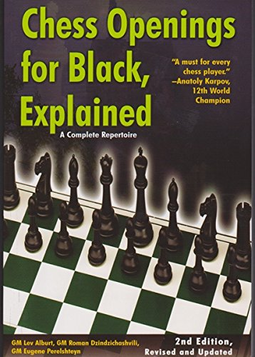 Chess Openings for Black, Explained: A Complete Repertoire (Revised and Updated) Chess Training Pocket Book