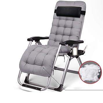 YY_C1 Tumbonas, sillas Plegables multifuncionales, sillón de ...