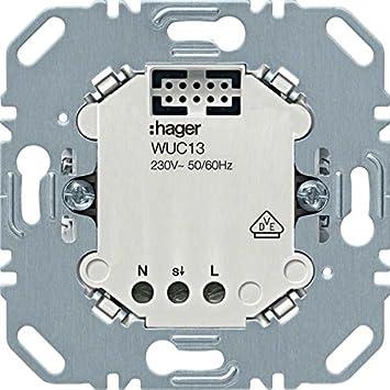 HAGER intercomunicador movimiento por. - Detectores WUC13 Hager, Blieskastel