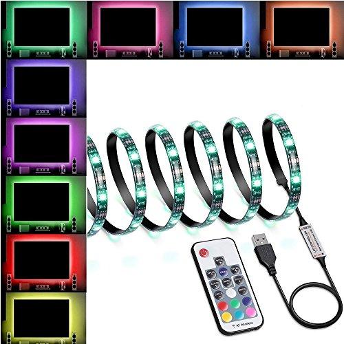 LED Strip Lights 60 LED Changing Color Strip Kit,USB Powered