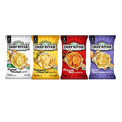 Deep River aperitivos Variety Pack (24 Pack bolsas de 2 oz ...