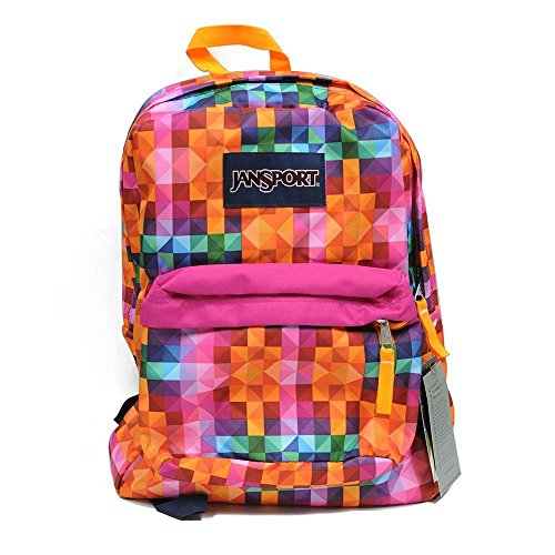 JanSport T501 Superbreak Backpack 2015 Spring Collection (Multi Spectrum)