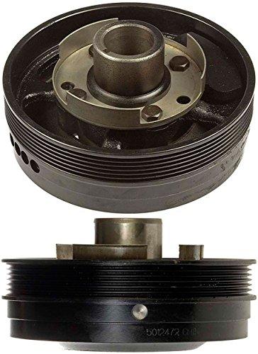 APDTY 605114 Harmonic Balancer Crank Pulley Crankshaft Damper Dampener Assembly Fits Select GM 3.8L 3800 Engine (Replaces 88959266, 25527381) ()