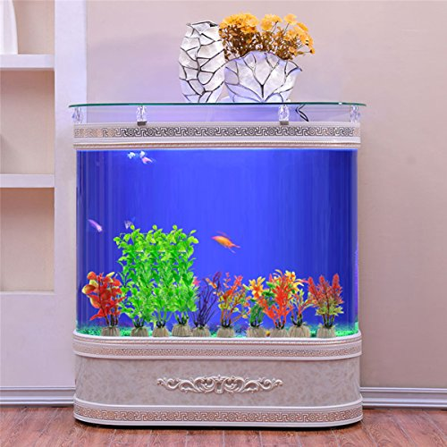 Comsun 4 pack artificial aquarium plants large size 10 6 for Amazon fish tanks for sale