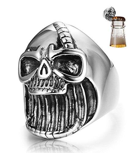 deer skull ring - 4