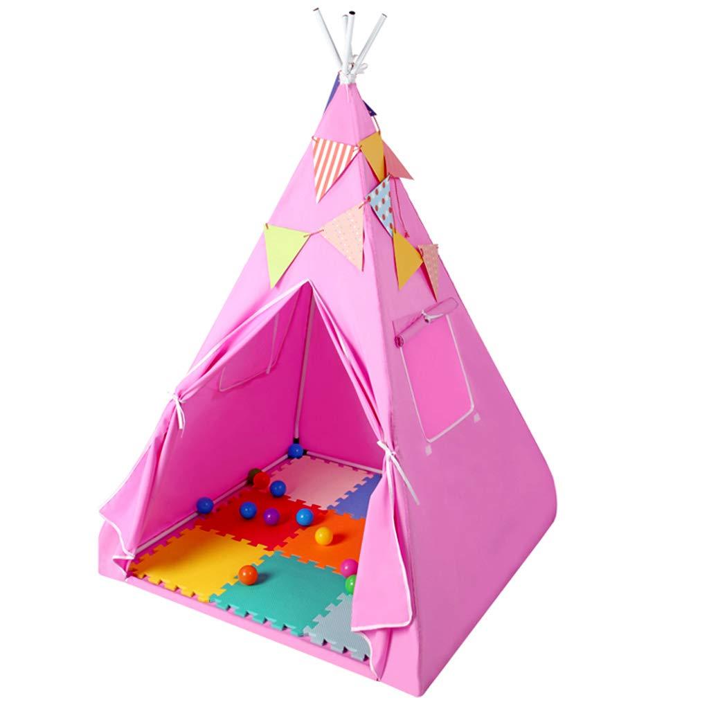 キッズテント 子供用のテント 子供用の部屋の劇場のテント 屋外の小さなテント ファッションの子供の部屋 姫の部屋 小さなテント 子供のおもちゃの家 (Size : 100x140cm) B07KZVQW3F  100x140cm