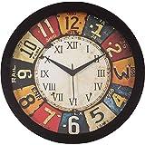 Mishty Analog Wall Clock (Multicolor) (31 cm x 31 cm)