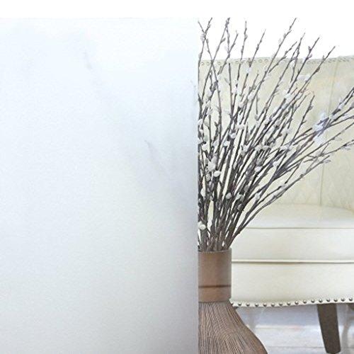 Aingoo Fensterfolie Sichtschutzfolie Milchglasfolie Window Film transparent 45x200cm 129