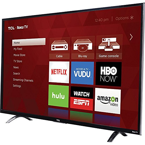 TCL 49FP110 49-Inch 1080p Roku Smart LED TV - Tcl Lcd 40 Inch Tv
