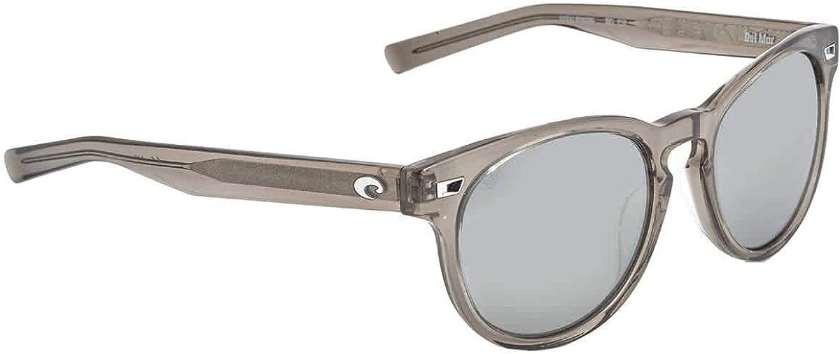 Costa Del Mar Sunglasses Shiny Taupe Crystal/Gray Silver Mirror 580G