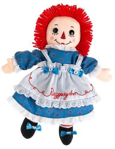 Raggedy Ann Doll with Certificate of Authenticity / Raggedy Ann 90th Anniversary Doll