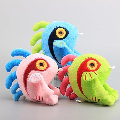 Murloc 8 Inch Toddler Stuffed Plush Kids Toys 3 Pcs/set by kidsheaven (Toy Murloc)