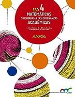 Matemáticas orientadas a las Enseñanzas Académicas 4. (Aprender es crecer en conexión)
