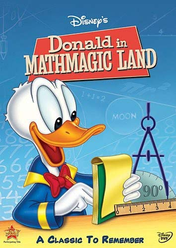 Donald in Mathmagic Land Paul Frees Clarence Nash Hamilton Luske Joshua Meador