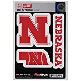 Detail your vehicle and show your team pride with this NCAA Team Decal, 3-Pack by Team ProMark. These decals measure approximately 5-inches by 7.5-inches and are constructed from die-cut, premium, vinyl material. They feature UV resistant lam...