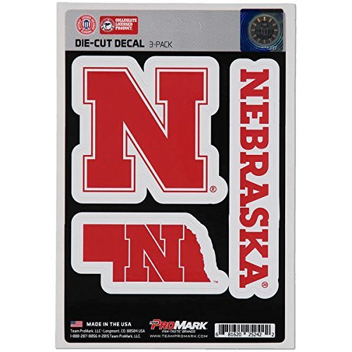 NCAA Nebraska Cornhuskers Team Decal, ()