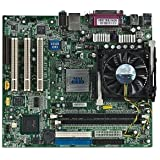 MSI MS-6714 Intel 845GV Socket 478 micro-ATX Motherboard w/Pentium 4 2.8GHz CPU, Heat Sink & Fan