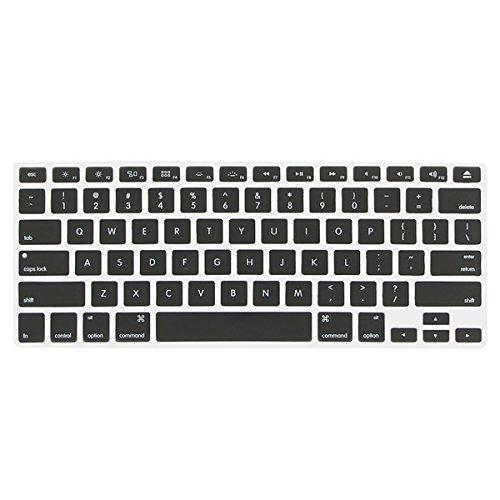 Enkay Matte SchutzhŸlle Tastatur-Abdeckung Schirm-Film-Antistaub-Stecker-Set fŸr MacBook Pro 13,3 , Apple Zubehšr transparent