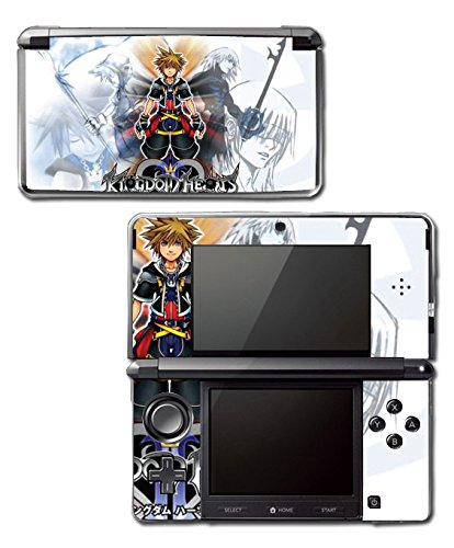 Kingdom Hearts Re:coded 358/2 Birth By Sleep Video Game Vinyl Decal Skin Sticker Cover for Original Nintendo 3DS System