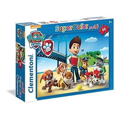Clementoni Paw Patrol Supercolor Puzzle Maxi 60 Pezzi 26576