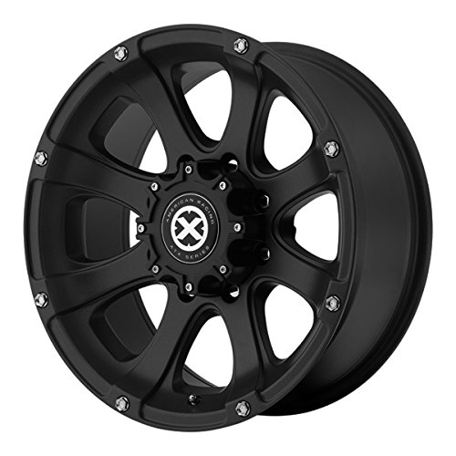 ATX Series AX188 Ledge Cast Iron Black Wheel with Painted Finish (17.00x8.00''/5x114.30mm)