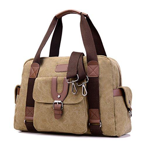 1145e4e2af317 Frauen Jahrgang Leinwand Messenger Aktentasche Schulter Handtasche Seite  Sport Tasche
