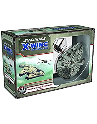 Star Wars: X-Wing - Heroes of the Resistance Game Expansion Pack