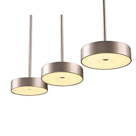 illuminazione Lampadari moderni a LED a tre teste da pranzo Lampada ...