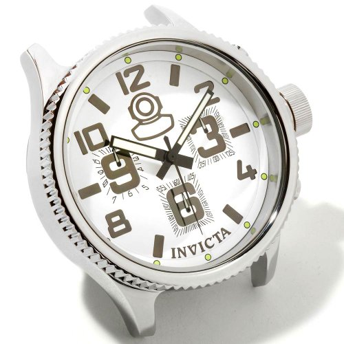 Invicta Russian Diver Grand Limited Edition White Dial Stainless Steel Desk Clock 1787 -