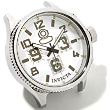 Invicta Russian Diver Grand Limited Edition White Dial Stainless Steel Desk Clock 1787