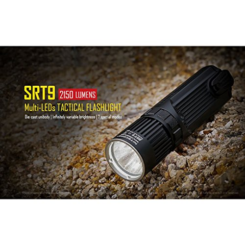 Nitecore SRT9 Torch - Black