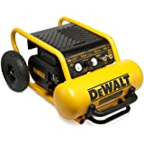 Factory-Reconditioned DEWALT D55146R Heavy Duty 4.5 Gallon Compressor with Wheels