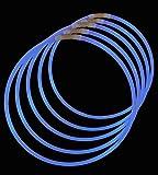 ": 22"" Lumistick Glowstick Glow Stick Necklaces BLUE (200 Necklaces)"