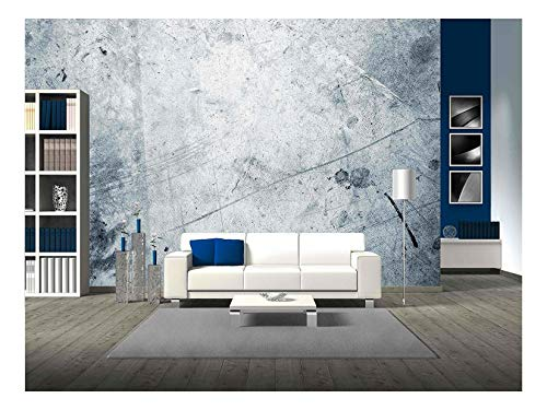 (wall26 - Closeup of Rough Blue Background - Removable Wall Mural | Self-Adhesive Large Wallpaper - 100x144 inches)