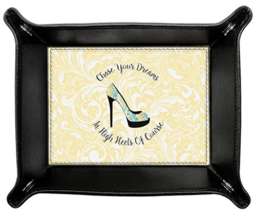 High Heels Genuine Leather Valet Tray by RNK Shops
