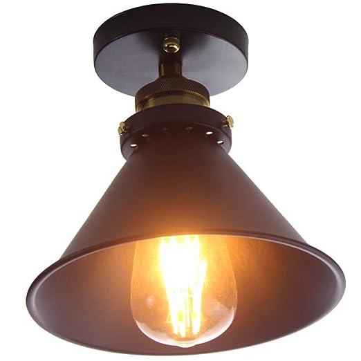 Amazon.com: Winretro Retro Industrial Edison hierro forjado ...
