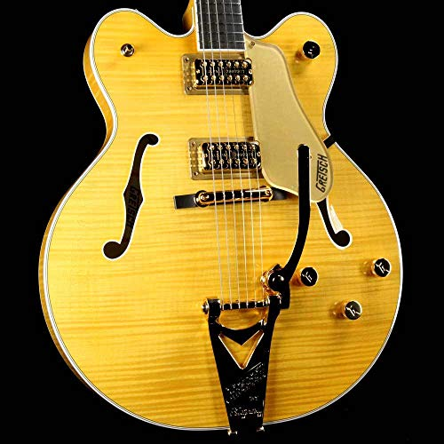 Gretsch G6122T Players Edition Country Gentleman - Flame Maple Amber Stain -