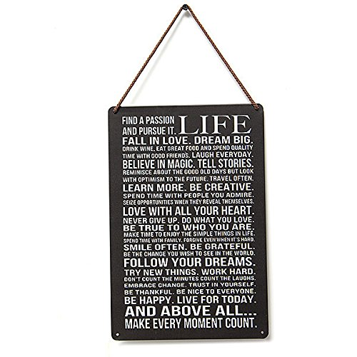 12x8 Retro Metal Wall Sign Tin Plaque Vintage Shabby Funny Fitchen Lounge Life Different Quality Life Metal Pub Wall Tavern Shabby Chic Decor Home Shop Vintage Sign Tin Plaque