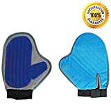 Zsportz Pet Grooming Glove – 2-in-1 Pet Hair Remover Mitt and De-Shedding Tool – Perfect for Large and Small Dogs, Cats, and Other Animals – Removes Animal Hair from Household Furniture Review