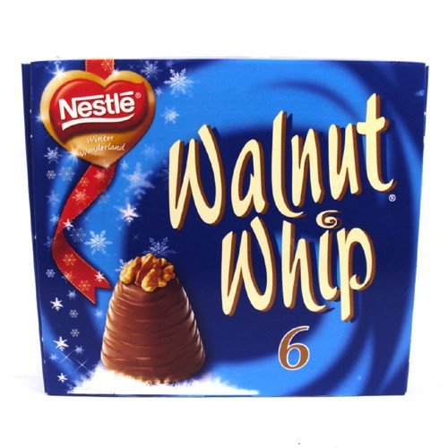 Walnut Whip 196g - 6 Pack