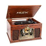 MISIK Sistema Nostálgico MN7711 Bluetooth con tornamesa