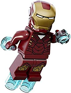 LEGO Marvel Super Heroes Minifigure - Iron Man with Triangle on Chest