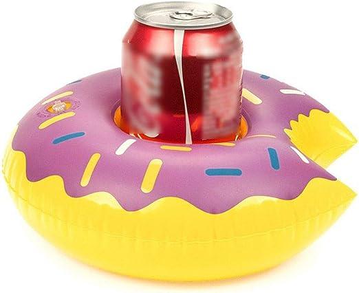 Botella Hinchable con Forma de Donut para Bebidas, para baño o ...
